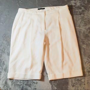 Elie Tahari Cuffed Bermuda Shorts (NEW)